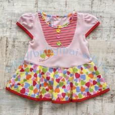 Платье Merry Go Round комбинированное 3 цвета 60-70 см