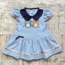 Платье Merry Go Round трикотажное 2 цвета 80-90 см