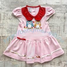 Платье Merry Go Round трикотажное 2 цвета 60-70 см