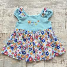 Платье Merry Go Round комбинированное 3 цвета 80-90 см