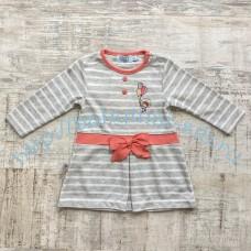 Платье WWW трикотажное для девочки 6-18 мес.