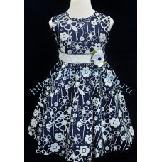 Платье Chiap ha швейное для девочки на 90 см