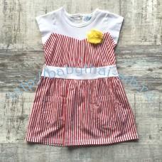 Платье WWW текстильное для девочки 3-5 лет